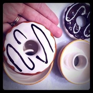 Other - Donut jewelry holders x2